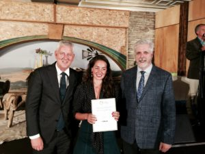 Cassandra Steeth was runner-up in the IFAJ/Rabobank award for Best Audio